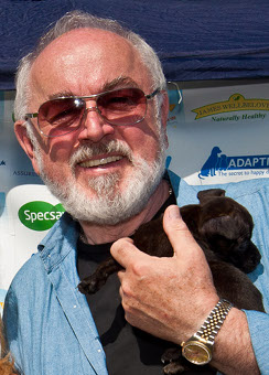 Peter Egan at Pup Aid 2012